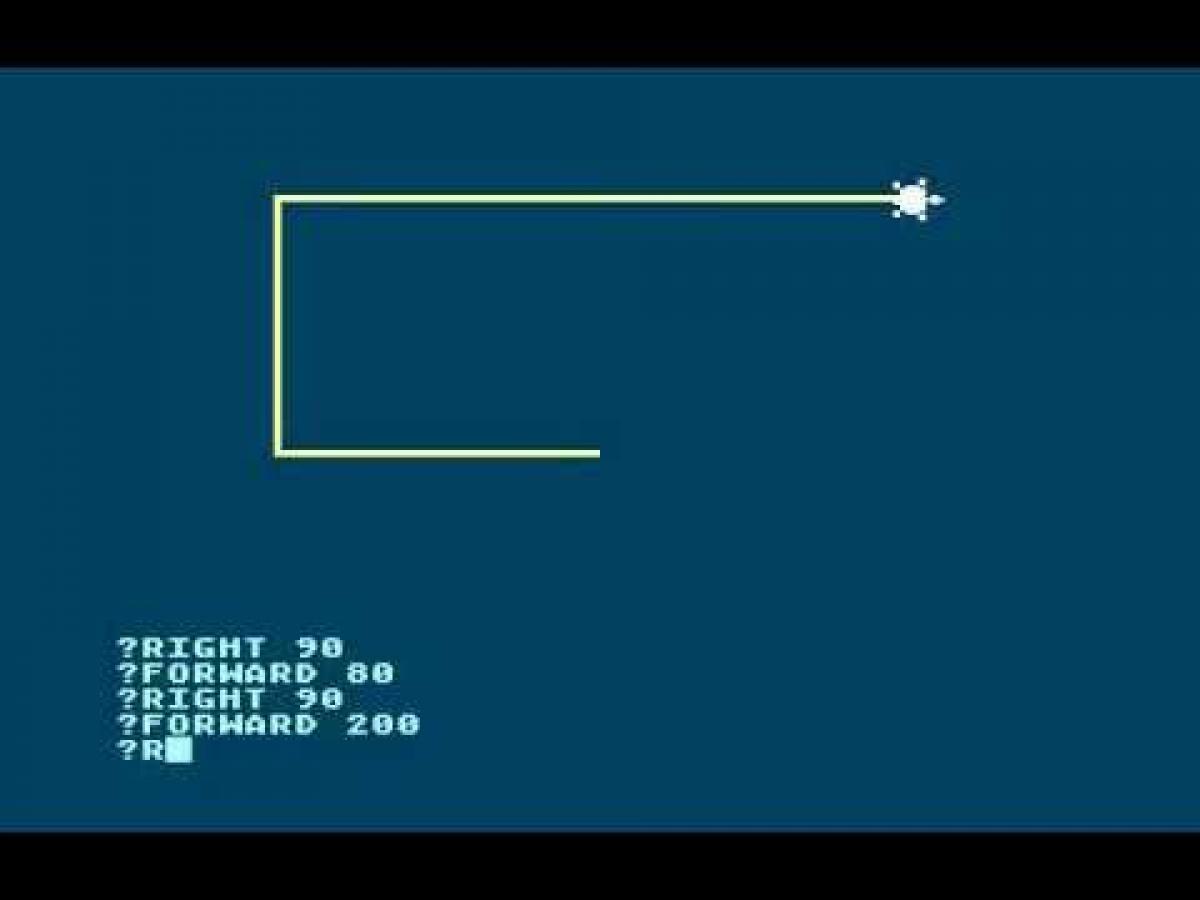 lenguaje de programación para niños logo