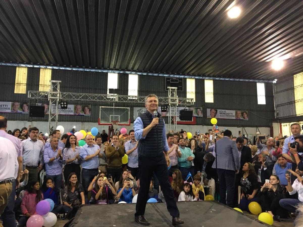 Mauricio Macri desde Entre Ríos aseguró que