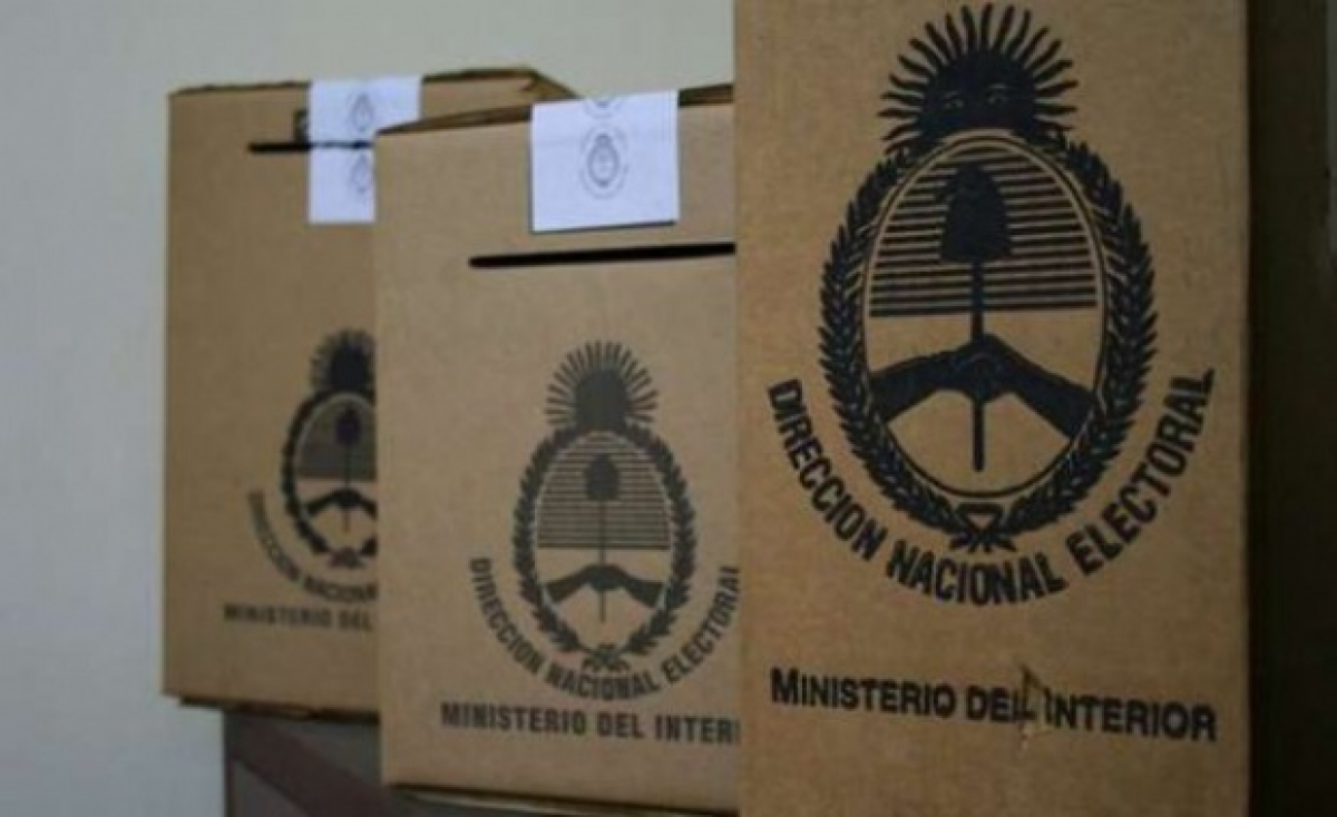Oficializaron las boletas para las elecciones del 22 de octubre