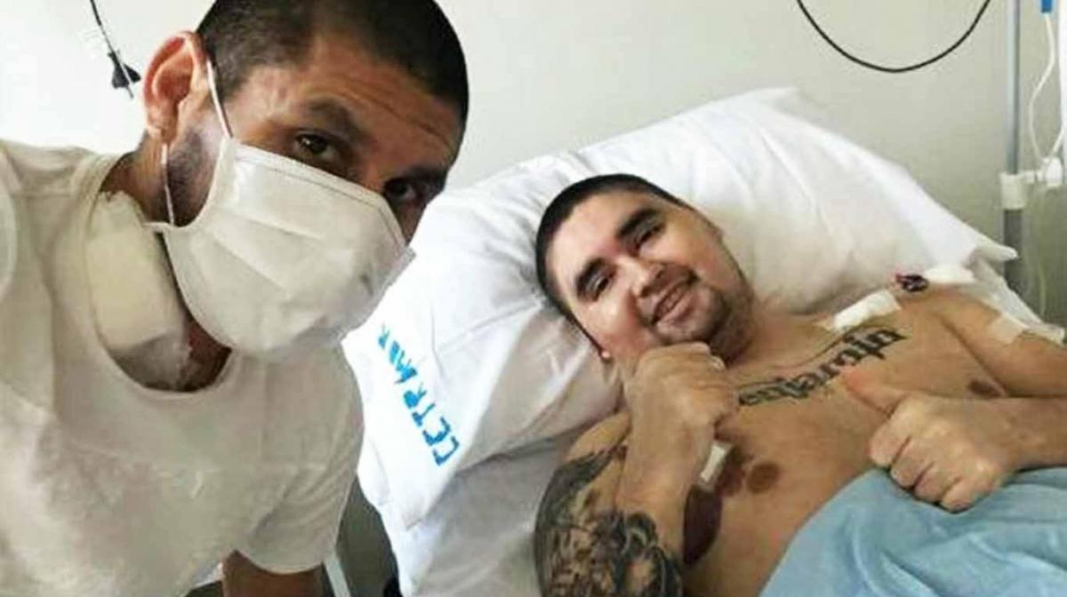 Cristian Villagra le donó médula ósea a su hermano