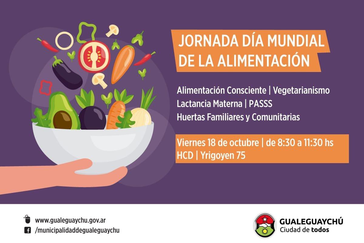 Se Realizara Una Jornada Por El Dia Mundial De La Alimentacion