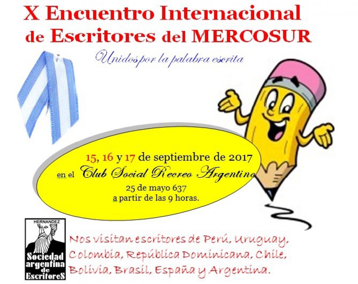 Comienza el X Encuentro Internacional de Escritores del Mercosur